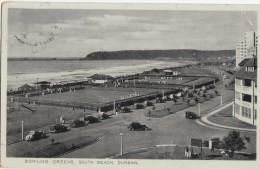 1930 CIRCA DURBAN SOUTH BEACH BOWLING GREENS - Afrique Du Sud