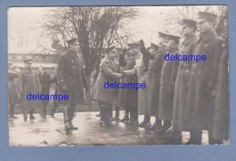 CPA Photo - COBLENZ / COBLENCE - Rencontre Entre Officiers Français Russes Et Américains - 3rd Army - Guerra 1914-18