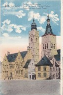 BEL32/  Diksmuide Stadhuis En Kerktoren Uitg. J. Casier-Boury Pour Colombes - Diksmuide