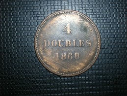 Guernsey 4 Doubles 1868 (5264) - Guernsey