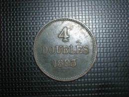 Guernsey 4 Doubles 1893 (5265) - Guernsey