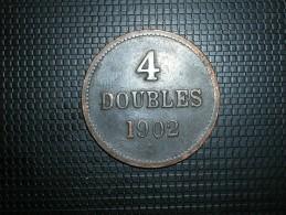Guernsey 4 Doubles 1902(5266) - Guernsey