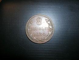 Guernsey 8 Doubles 1834 (5248) - Guernsey