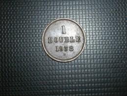 Guernsey 1 Double 1938 (5262) - Guernsey