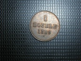 Guernsey 1 Double 1889 (5261) - Guernsey