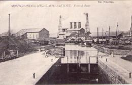 Montchanin-les-Mines..  Bois-Bretoux..les Fours à Chaux..péniche..écluse - France