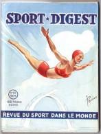 Sport Digest, Revue Signée Pellos, Plongeon, Football Coupe Du Monde, Athlétisme, Escrime, Auto, Tennis, Boxe ... - Sport