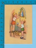 Ivers Images Pieuses ( GBB # E.V.110 ) Holy Card Santini 2 Scans - Devotion Images