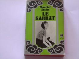 Le Sabbat De Maurice Sachs Chez Gallimard Au Livre De Poche. - Historic