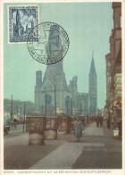 1953  Kaiser-Wilhelm-Gedächtnis Kirche 30 + 15 Pf  Esttagstempel MiNr 109  Seltene   FDC - [5] Berlijn