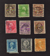 B415 1932 USA ( 9 Stamps ) ( Sc# 704,705,706,707,708,709,710,712,715 ) CH - United States