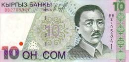 KIRGHIZISTAN     10 Som  Date De 1997     Pick 14      ***** BILLET  NEUF ***** - Kirgisistan