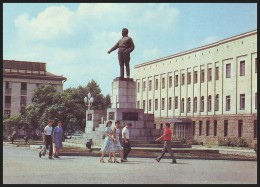 UKRAINE (USSR, 1989). KIROVOGRAD. CENTRAL SQUARE, SERGEI KIROV MONUMENT. Dismantled At 23.02.14 - Ukraine