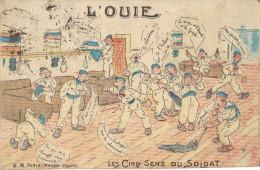 Div-38 - Les Cinq Sens Du Soldat - L'OUIE - Humour