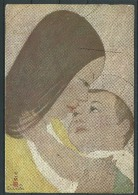 "1924,Cartolina Viaggiata  Da Roma Per Teheran (Iran) Via U.R.S.S ""Mater Amabilis"" - Illustrateurs & Photographes"
