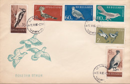 Bulgaria 1960 Birds FDC - FDC