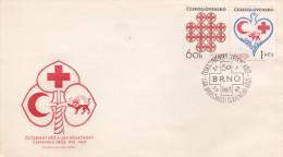 Czechoslovakia 1969 Red Cross FDC - FDC