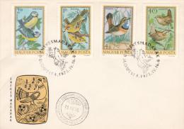 Hungary 1973 Birds FDC - FDC