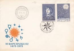 Hungary 1979 Copernicus 500th Anniversary FDC - FDC