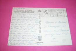 TIMBRE OBLITERATION FLAMME° SAINT QUAY PORTRIEUX LE 24 07 1972  TAXE - Marcophilie (Lettres)
