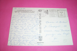 TIMBRE OBLITERATION FLAMME° SAINT QUAY PORTRIEUX LE 24 07 1972  TAXE - Marcofilia (sobres)
