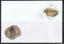 NORTH KOREA 2013 FOSSILS STATIONERY CANCELED - Fossils