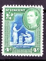 St Vincent, 1949, SG 167a, Mint Hinged - St.Vincent (...-1979)