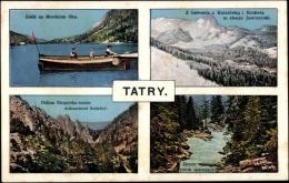 Cp Polen, Tatry, Gebirge, Panorama, Schnee, Bach - Polonia
