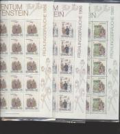 Liechtenstein **  899-901  Frühling       Kleinbogen Ungefaltet Katalog 40,00 - Unused Stamps