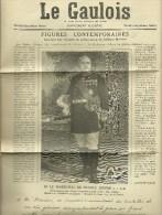 """1927 - """"LE GAULOIS"""" M. LE MARÉCHAL DE FRANCE JOFFRE"""" Supplément Illustré à La Gloire Du Vin MARIANI - Documents Historiques"""