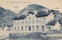 CPA - Bourg St Maurice - La Gare - Bourg Saint Maurice