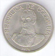 COLOMBIA 1 PESO 1974 - Colombia