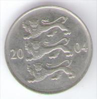 ESTONIA 20 SENTI 2004 - Estonia