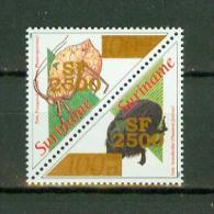 Suriname Surinam 2002,2V Ovpt,kevers,beetles,insec Ts,torren,MNH/Postfrs,(E3 665es - Andere