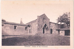 FIESOLE. Chiesa Di San Francesco. 4-6296 - Firenze (Florence)