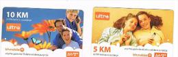 BOSNIA - BH MOBILE  (GSM RECHARGE) -  LOT OF 2 DIFFERENT   - USED  -  RIF. 3036 - Bosnia