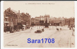 51 CHÂLONS SUR MARNE, Place De La République. ( VOIR SCAN ). - Châlons-sur-Marne