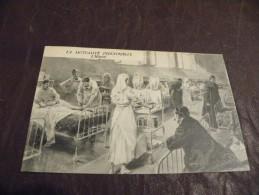 A95.CPA..75..PARIS....LA MUTUALITE INDUSTRIELLE..L'Hopital....rare Beau Plan Animé.écrite & Voyagée 1923 - Salute