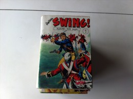 Ancien  CAP'TAIN SWING N° 7 Mon Journal  Comprends N° 25 26 27 28 - Captain Swing