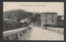 DD / 30 GARD / PONT-D´ HÉRAULT / AVENUE DE GANGES / ENFANTS / CIRCULÉE EN 1922 - France