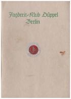Jagd - Reitklub Düppel In Berlin , 1938 , Jagdhunde , Jagd , Reiten , Pferde , Döberitz , Karzow , Mahlow , Siethen !!! - Reiten