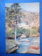 Ak-Suu , Mountain River - Nature Of Kyrgyzstan - 1969 - Kyrgyzstan USSR - Unused - Kirghizistan