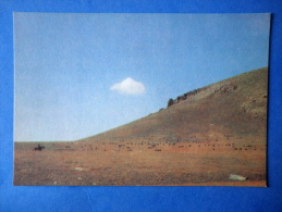 Towards Jailoo - Horse - Nature Of Kyrgyzstan - 1969 - Kyrgyzstan USSR - Unused - Kirghizistan