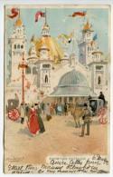 NL/  Rare, Zeldzaam, Cassiers 1902 Glasgow World Exhibition Entrance Watercolour Aquarelle - Other Illustrators