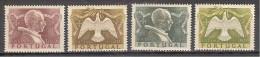 ** PORTOGALLO 1951 MNH ANNO SANTO 744/47 CAT. € 60,00 - 1910 - ... Repubblica