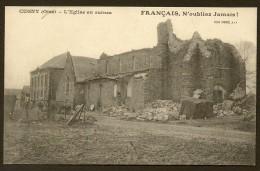 CUGNY L'Eglise En Ruines (Desaix) Aisne (02) - France