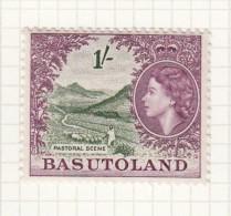 QUEEN ELIZABETH II - 1954 - Basutoland (1933-1966)
