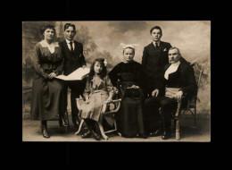 29 - CHATEAULIN  - Carte Photo - Famille Daniélou En 1917 - Châteaulin