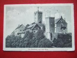 ALLEMAGNE -  WARTBURG - DIE WARBURG VON SÛD-WEST - - Allemagne