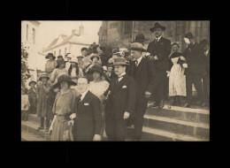 29 - CHATEAULIN - Carte Photo - Mariage De René Guillou Et Marie Quefféléan - 1923 - Châteaulin